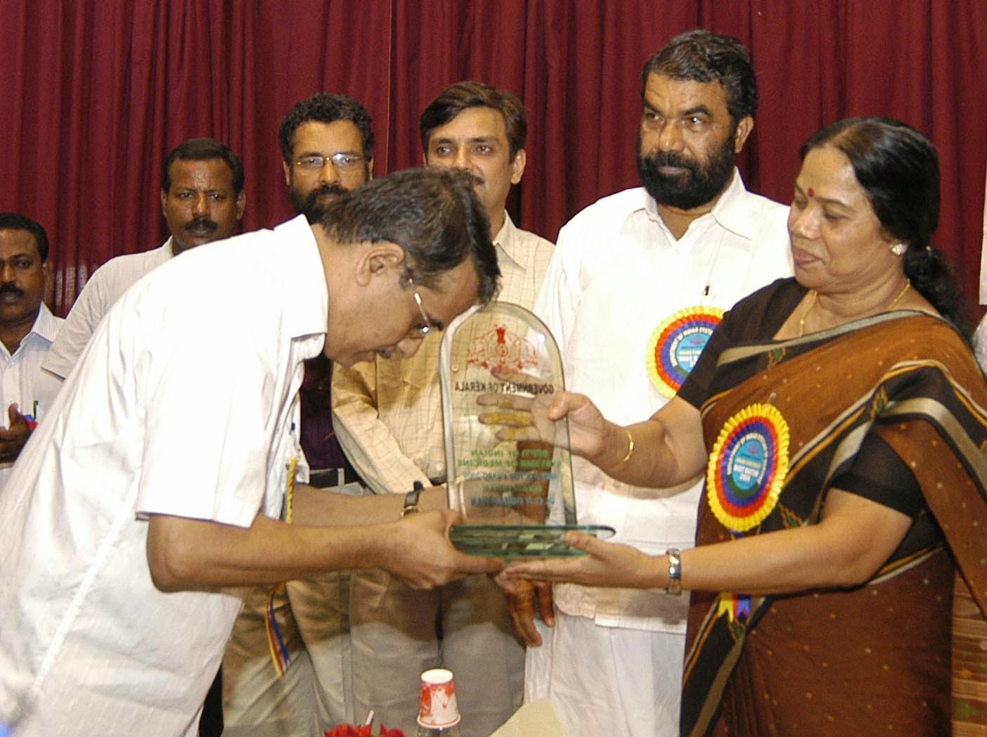 The Bhishak Ratna Award is bagged by D. D. Sahadevan